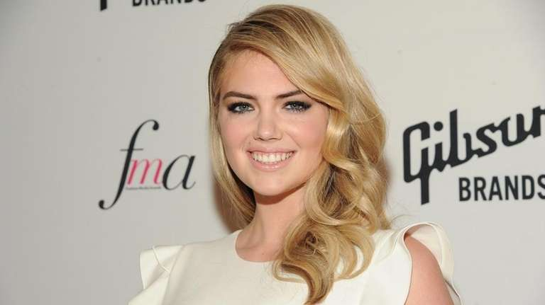 Model Kate Upton attends The Daily Front Row
