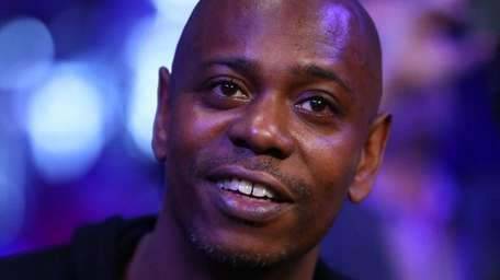Comedian Dave Chappelle, seen here on March 18,