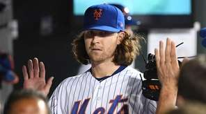 New York Mets starting pitcher Jacob deGrom is