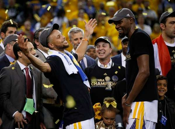 Warriors-Cavaliers generate highest ratings for Finals series since Michael Jordan era