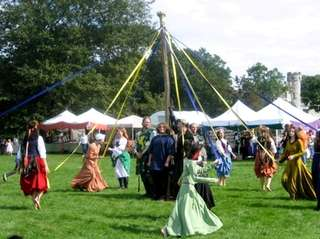 The second day of the Riverhead Medieval Festival