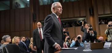 Attorney General Jeff Sessions on Capitol Hill, Tuesday,