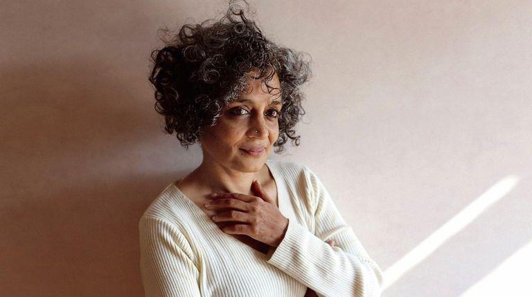 Arundhati Roy is back.
