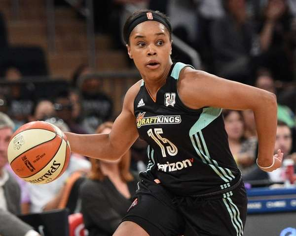 Liberty guard Brittany Boyd tore her left Achilles'