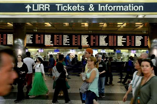 The LIRR concourse at Penn Station after the