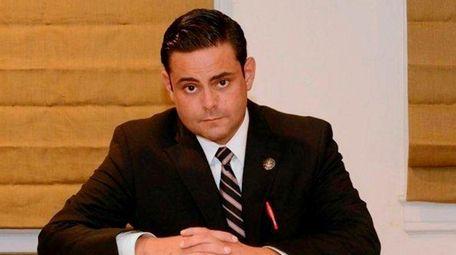 Westhampton Police Officer Joseph Pesapane filed a $75