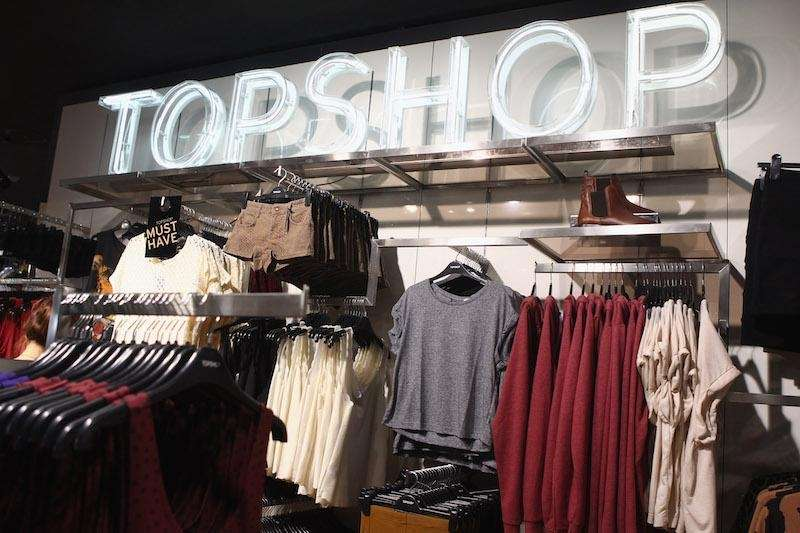 Topshop offers a 10 percent discount with a