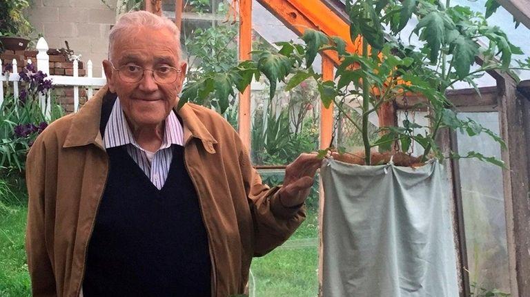 Dominic Pascucci, 88, of Glen Cove, created his