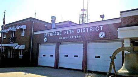 The Bethpage Fire District headquarters at 225 Broadway
