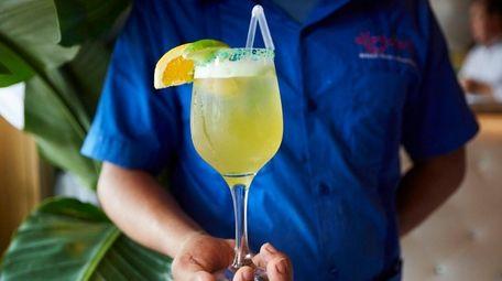 The bar at Margarita's Cafe stocks more than