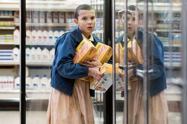 Millie Bobby Brown plays a supernatural girl named