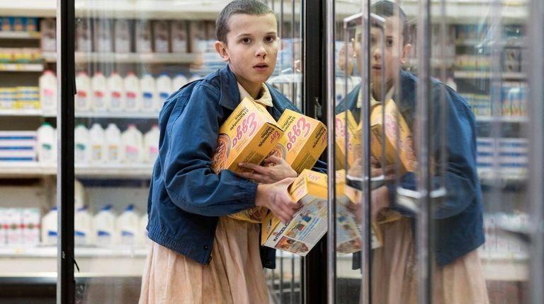 Millie Bobby Brown plays a supernatural girl named