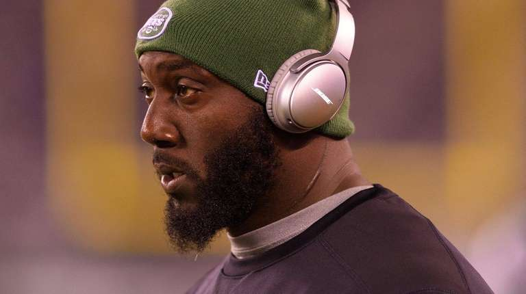 Jets defensive end Muhammad Wilkerson before a game