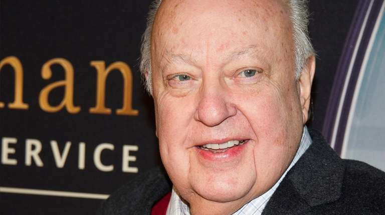 Former Fox News chief Roger Ailes, who