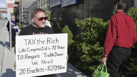 In this April 17, 2012, photo, James Hodgkinson