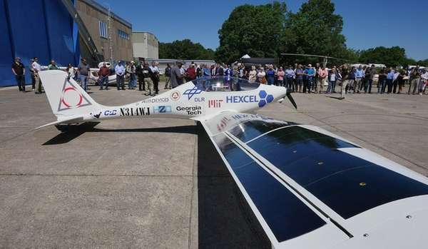 Luminati Aerospace introduced a solar-powered aircraft on June