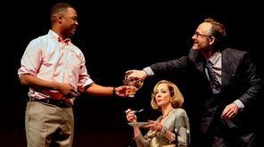 Corey Hawkins, Allison Janney and John Benjamin Hickey