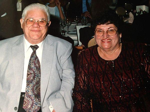 Nick and Kiki Scaros of Medford celebrated their