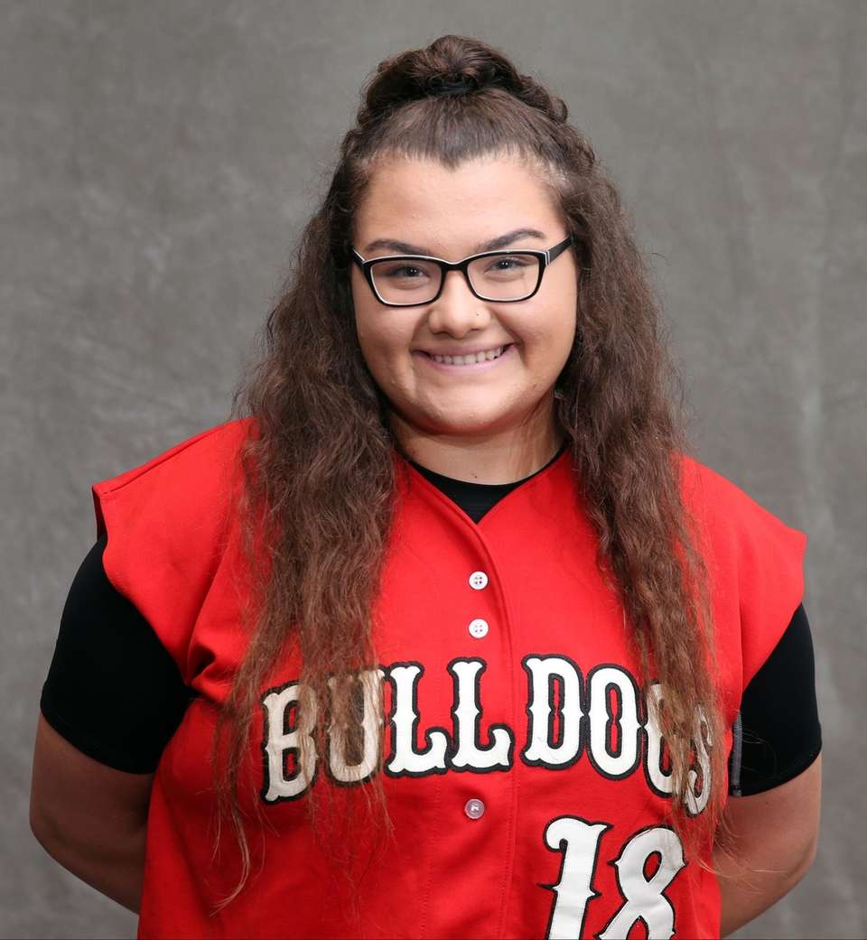 She hit .558 with four home runs, 40