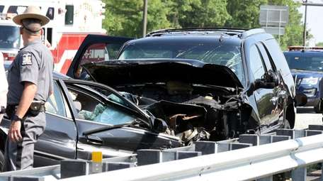A driver was killed in a crash on