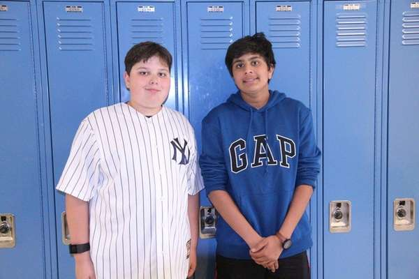 Nicholas Barshay, left, and Jalaj Mehta competed in