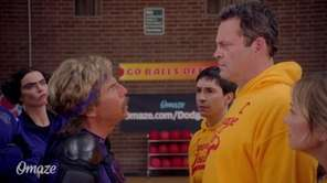 "See ""Dodgeball"" stars Ben Stiller, Vince Vaughn, Christine"