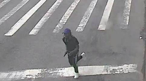 The NYPD released surveillance video of a suspect