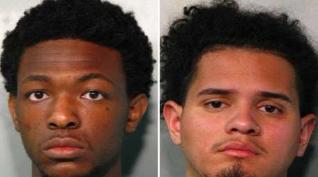 From left, Delroy Greaves, 20, is charged with