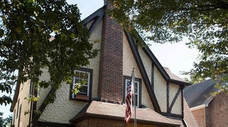 President Donald Trump lived in this home, shown