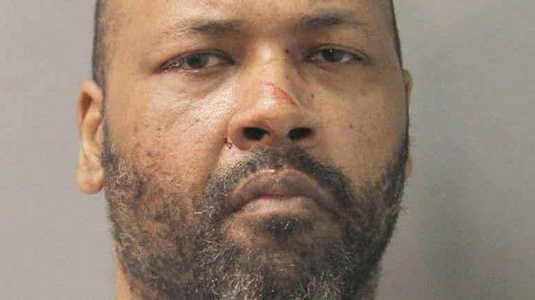 Ivan F. Colon, 42, of Elmont, was arrested