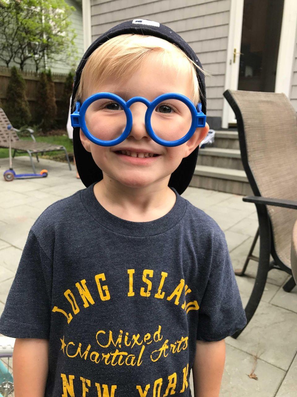 His parent's hack: