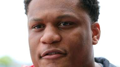 New York Giants offensive tackle Ereck Flowers talks