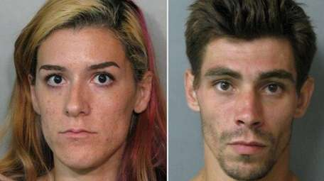 Christy Crespo, 28, of Island Park, and Jonathan