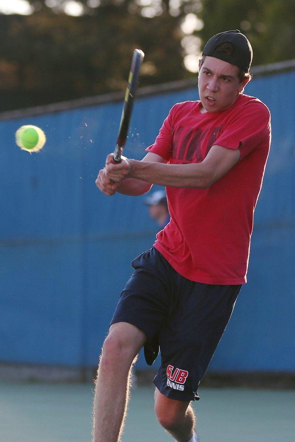 Bezos won the CHSAA singles championship in his