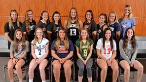 The Newsday All-Long Island girls lacrosse team gathers