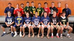 The Newsday All-Long Island boys lacrosse team gathers