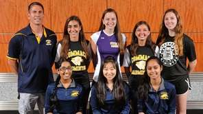 The Newsday All-Long Island girls badminton team gathers