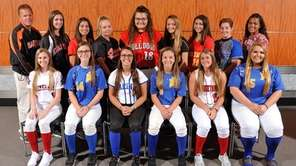The Newsday All-Long Island softball team gathers for