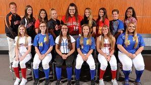 The Newsday All-Long Island softball team gathers for
