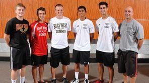 The Newsday All-Long Island boys tennis team gathers