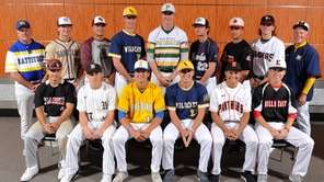 The Newsday All-Long Island baseball team gathers for