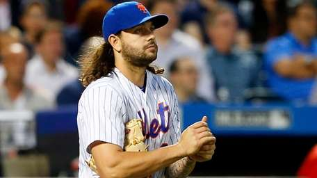 Robert Gsellman of the New York Mets looks