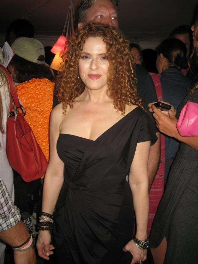 SATURDAY: STAR BRIGHT Bernadette Peters performs with a