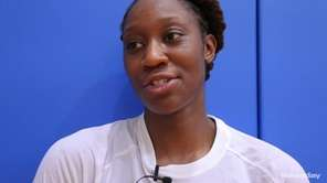 Tina Charles of the New York Liberty answers