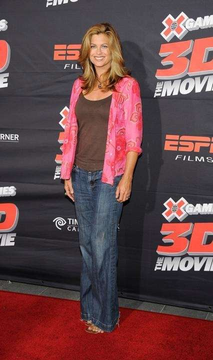 Actress Kathy Ireland arrives at the premiere of