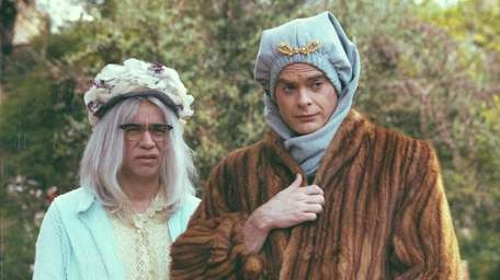 Fred Armisen, left, and Bill Hader star in