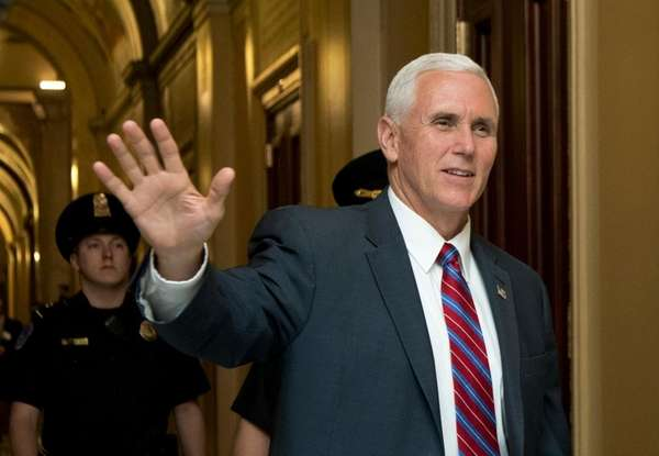 Vice President Mike Pence is now chair of
