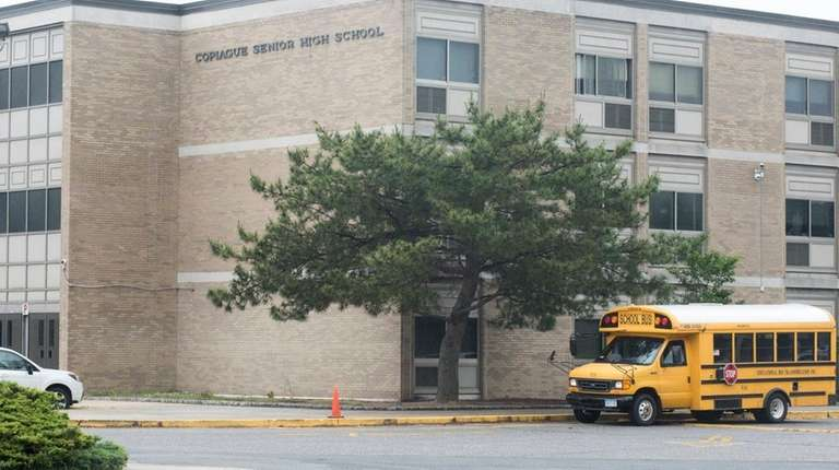 Copiague High School has barred several students from
