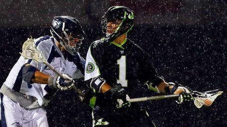 JoJo Marasco controls the ball against Chesapeake's Dan