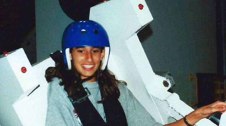 Moghbeli at the  Advanced Space Academy in Huntsville,